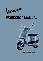 Vespa LX50 4T Workshop Repair Manual