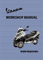 Vespa Piaggio MP3 Workshop Repair Manual