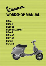 Vespa PK Series Motor Scooter Workshop Repair Manual